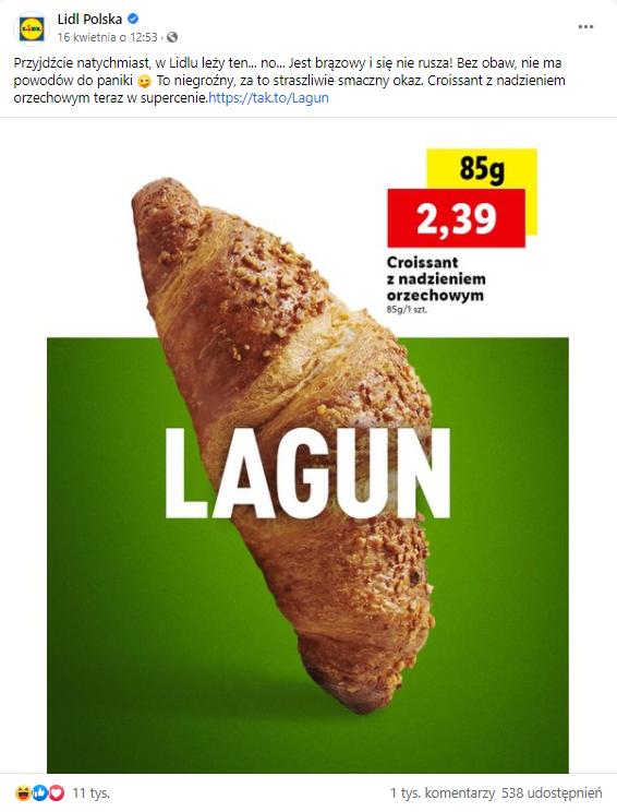 real time marketing - lagun