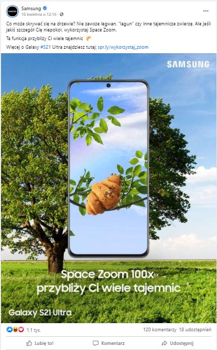 real time marketing - samsung