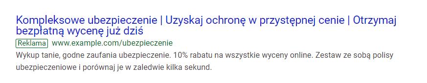 reklamy w sieci wyszukiwania